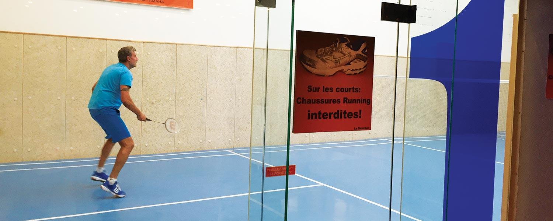 terrain badminton st etienne